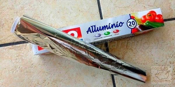 La carta allumini (foto M. Cuomo - www.nonsolorisparmio.it)