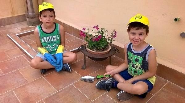 Stefano e Lorenzo (aiuto giardiniere)