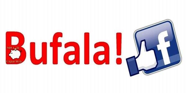 Bufala Facebook!?