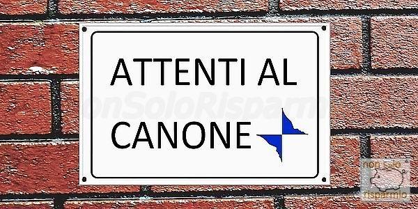 Attenti al canone (www.nonsolorisparmio.it)