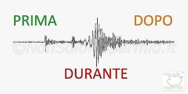 Terremoto: prima, durante e dopo!
