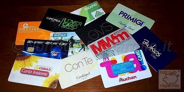 La fidelity card cos'è e come funziona? (foto M. Cuomo - www.nonsolorisparmio.it)