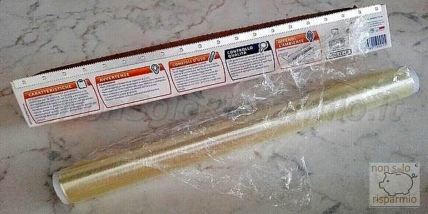 Pellicola per alimenti (foto M. Cuomo - www.nonsolorisparmio.it)