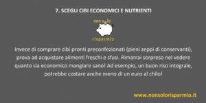 07. scegli cibi economici e nutrienti