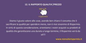 12. rapporto qualità-prezzo