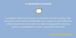 13. impariamo a cucinare