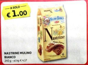 Auchan fino al 30 settembre - Nastrine Mulino Bianco