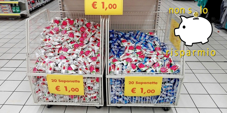 A caccia di offerte: Auchan - 20 saponette a un euro!