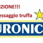 Messaggio truffa Euronics