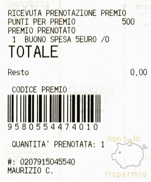 Conversione punti CONAD (www.nonsolorisparmio.it)