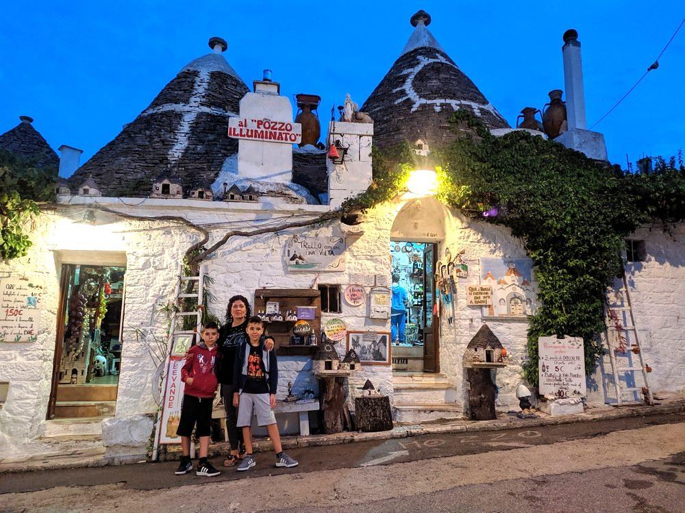 Centro storico di Alberobello (foto Maurizio Cuomo - Spunti di Viaggio)