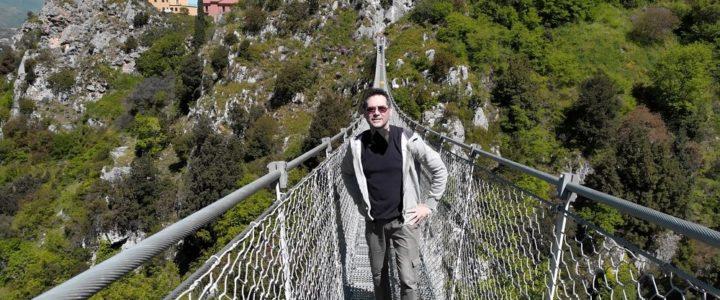 Ponte tibetano di Laviano – Viaggiare in Economia